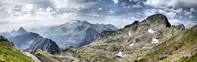 Panorama13 fhdr - Subiendo al pico Sacroux, Valle de Benasque