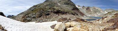 Panorama16 001 - Ibón Blanco de Literola, Valle de Benasque.