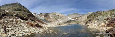 Panorama18 001 - Ibón Blanco de Literola, Valle de Benasque.