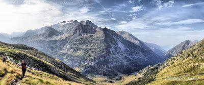 Panorama22 fhdr - Subiendo al pico Sacroux, Valle de Benasque