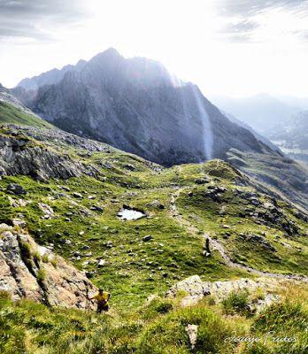 Panorama23 fhdr - Subiendo al pico Sacroux, Valle de Benasque