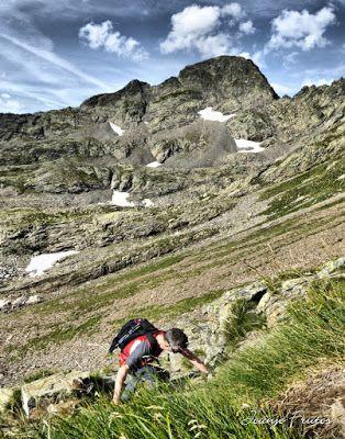 Panorama24 fhdr - Subiendo al pico Sacroux, Valle de Benasque