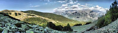 Panorama1 fhdr - Puentet de Cerler, Valle de Benasque.
