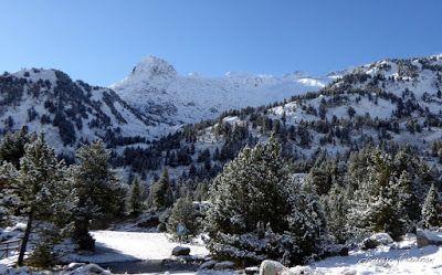 P1300949 - Primera nevada de noviembre en el Valle de Benasque.