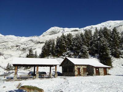 P1300994 - Primera nevada de noviembre en el Valle de Benasque.