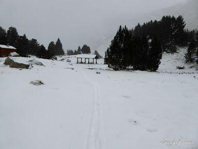 P1310069 - Primera esquiada por Llanos del Hospital, Valle de Benasque.