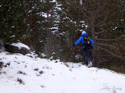 P1310075 - Primera esquiada por Llanos del Hospital, Valle de Benasque.