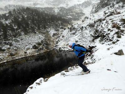 P1310092 - Primera esquiada por Llanos del Hospital, Valle de Benasque.