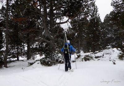 P1310106 - Primera esquiada por Llanos del Hospital, Valle de Benasque.