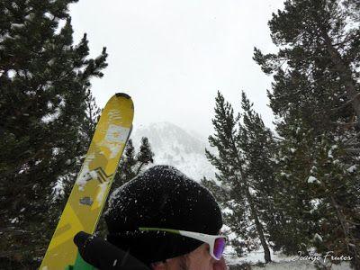 P1310108 - Primera esquiada por Llanos del Hospital, Valle de Benasque.