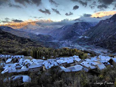 P1310136 fhdr - Y esquiamos hasta Llanos del Hospital desde La Besurta, Valle de Benasque.