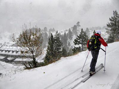 P1310141 fhdr - Y esquiamos hasta Llanos del Hospital desde La Besurta, Valle de Benasque.