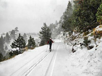 P1310143 fhdr - Y esquiamos hasta Llanos del Hospital desde La Besurta, Valle de Benasque.