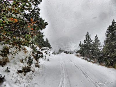 P1310144 fhdr - Y esquiamos hasta Llanos del Hospital desde La Besurta, Valle de Benasque.