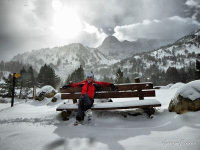 P1310149 fhdr - Y esquiamos hasta Llanos del Hospital desde La Besurta, Valle de Benasque.