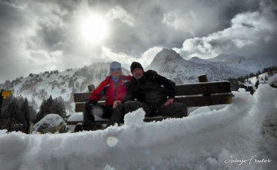 P1310150 fhdr - Y esquiamos hasta Llanos del Hospital desde La Besurta, Valle de Benasque.