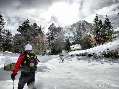 P1310152 fhdr - Y esquiamos hasta Llanos del Hospital desde La Besurta, Valle de Benasque.