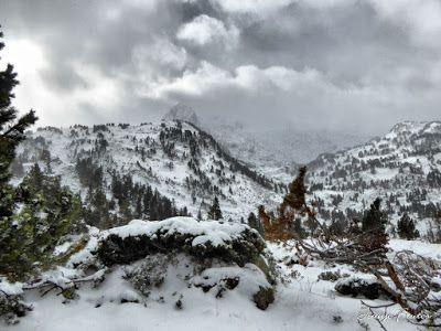 P1310165 fhdr - Y esquiamos hasta Llanos del Hospital desde La Besurta, Valle de Benasque.