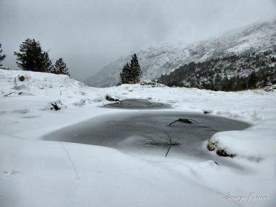 P1310167 fhdr - Y esquiamos hasta Llanos del Hospital desde La Besurta, Valle de Benasque.