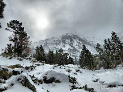 P1310169 fhdr - Y esquiamos hasta Llanos del Hospital desde La Besurta, Valle de Benasque.