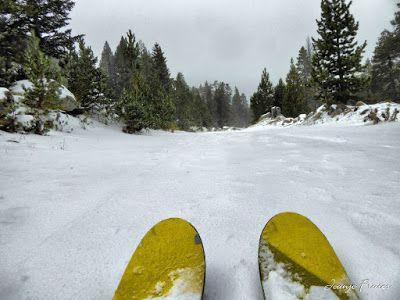 P1310175 fhdr - Y esquiamos hasta Llanos del Hospital desde La Besurta, Valle de Benasque.