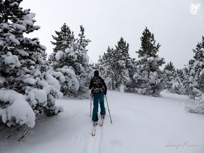 P1310670 - Rincón del Cielo muy nevado, Cerler (Valle de Benasque)