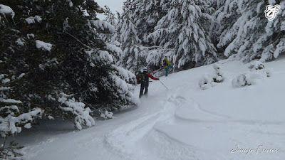 P1310696 - Rincón del Cielo muy nevado, Cerler (Valle de Benasque)