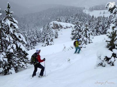P1310710 - Rincón del Cielo muy nevado, Cerler (Valle de Benasque)