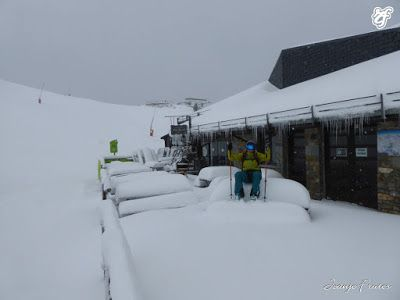 P1310714 - Rincón del Cielo muy nevado, Cerler (Valle de Benasque)