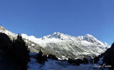 Panorama1 001 1 - Primera nevada de noviembre en el Valle de Benasque.