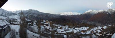 Panorama1 1 - Pico Gallinero en noviembre 2016. Cerler, Valle de Benasque