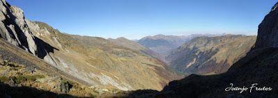 Panorama11 - Coll de Toro, Valle de Benasque con Vall d'Aràn.