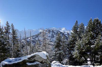 Panorama12 001 - Primera nevada de noviembre en el Valle de Benasque.