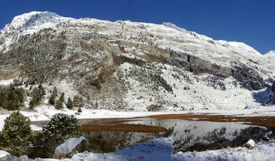 Panorama13 001 - Primera nevada de noviembre en el Valle de Benasque.