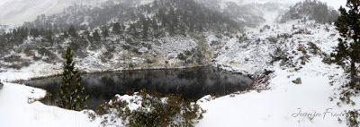 Panorama2 001 1 - Primera esquiada por Llanos del Hospital, Valle de Benasque.
