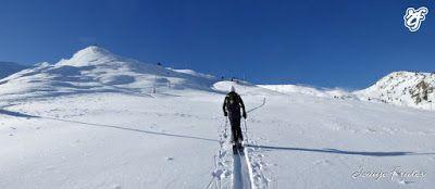 Panorama2 1 - Pico Gallinero en noviembre 2016. Cerler, Valle de Benasque