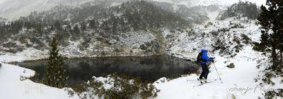 Panorama3 001 1 - Primera esquiada por Llanos del Hospital, Valle de Benasque.