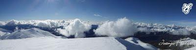 Panorama3 1 - Pico Gallinero en noviembre 2016. Cerler, Valle de Benasque