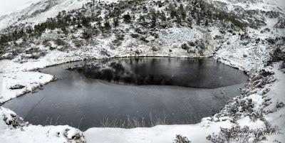 Panorama3 fhdr - Y esquiamos hasta Llanos del Hospital desde La Besurta, Valle de Benasque.
