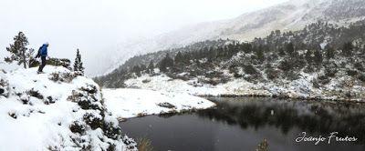 Panorama4 001 1 - Primera esquiada por Llanos del Hospital, Valle de Benasque.