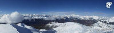 Panorama4 1 - Pico Gallinero en noviembre 2016. Cerler, Valle de Benasque