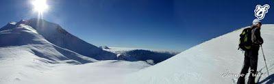 Panorama4 - Sexto y sigue polvo en Cerler, Valle de Benasque.
