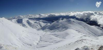 Panorama5 1 - Pico Gallinero en noviembre 2016. Cerler, Valle de Benasque