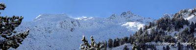 Panorama6 001 1 - Primera nevada de noviembre en el Valle de Benasque.