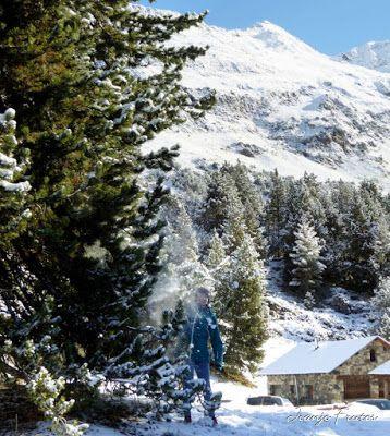 Panorama7 001 1 - Primera nevada de noviembre en el Valle de Benasque.