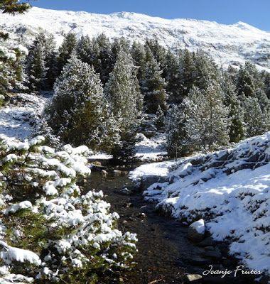 Panorama8 001 1 - Primera nevada de noviembre en el Valle de Benasque.