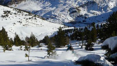 P1320068 - Esquiando por Cerler, Valle de Benasque.