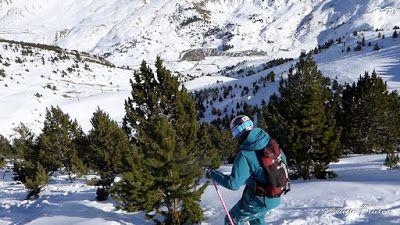 P1320074 003 - Esquiando por Cerler, Valle de Benasque.