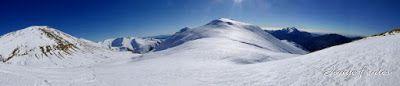 Panorama2 001 - Tuca de Urmella, powder en Cerler, Valle de Benasque.