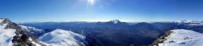 Panorama4 001 - Tuca de Urmella, powder en Cerler, Valle de Benasque.